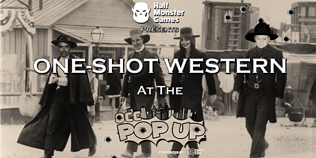 One-Shot Western Convention Megagame at Oz Comic Con Pop Up Sydney! (FREE) tickets