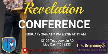 Revelation Conference tickets