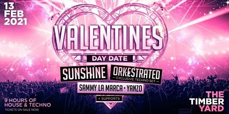 VALENTINES DAY DATE @ The Timber Yard tickets