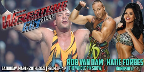 Meet Rob Van Dam and Katie Forbes tickets