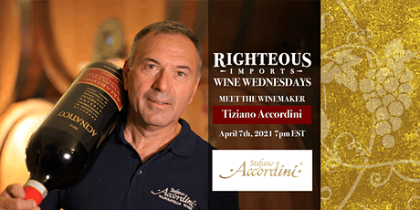Meet the Winemaker Virtual Wine Tasting with Mr. Titziano Accordini tickets