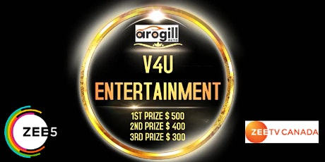 International Online Singing Contest- V4U Awards tickets