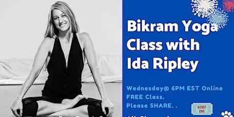 Bikram Yoga Community Class with Ida Ripley tickets