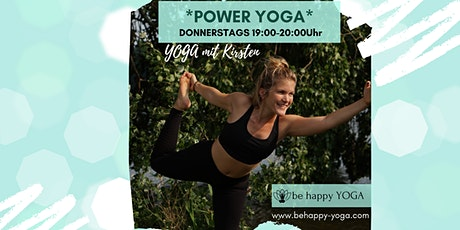 Power Yoga /Vinyasa Flow Yoga Stunde mit be happy YOGA Tickets