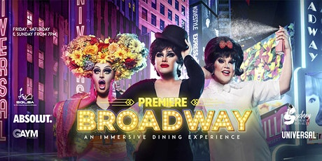 SGLBA Excl. Premiere Broadway Dinner & Show tickets