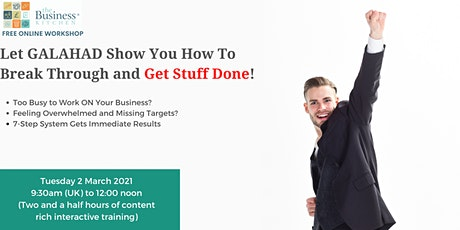 Discover our 7 step action planning system tickets