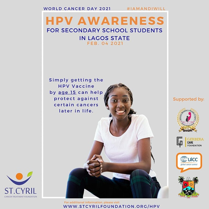 WORLD CANCER DAY/HPV AWARENESS image