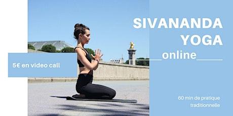 Cours de Yoga Bien Être _Sivananda Yoga_ | 5 €  | EN VISIO billets