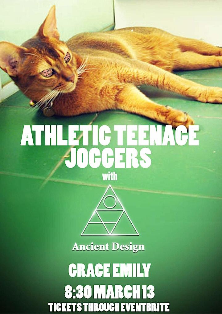 Athletic Teenage Joggers + Ancient Design image