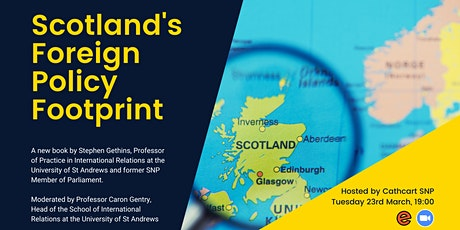 Book Event: Scotland's Foreign Policy Footprint, Professor Stephen Gethins tickets