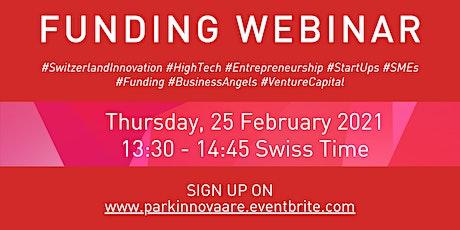Funding Webinar for High-Tech, High-Risk & High-Potential Start-Ups & SMEs tickets