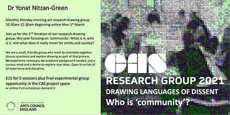 CAS Drawing Research Group 2021 tickets