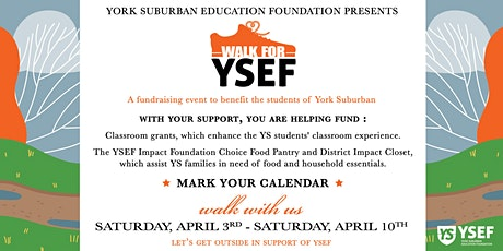 Walk for YSEF tickets