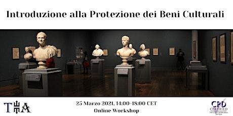 Introduzione alla Protezione dei Beni Culturali biglietti