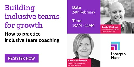 Building  inclusive teams for growth tickets