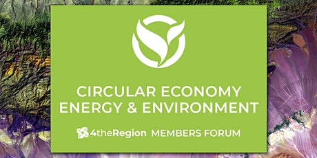 Circular Economy & Green Economy Member Forum tickets