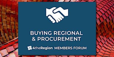 Procurement & Buying Regional Member Forum tickets