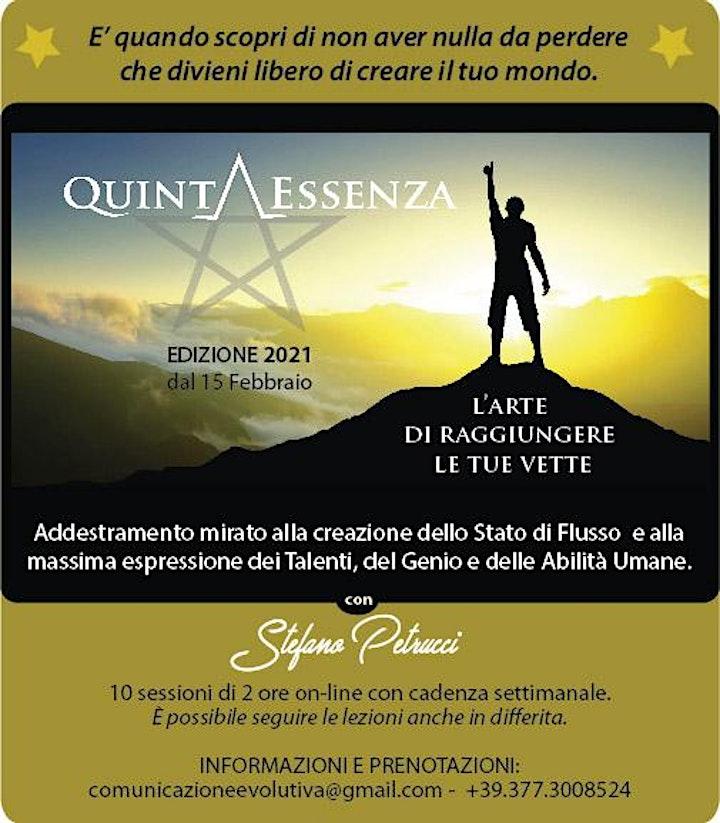 Immagine Quinta Essenza - L'Arte di raggiungere le tue vette.