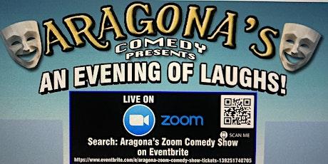 Aragona Zoom Comedy Show tickets