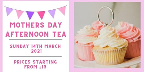 Kilbryde Hospice Mothers Day Afternoon Tea Delivery Service tickets