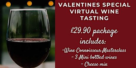 Valentine's Day Wine Tasting Tickets