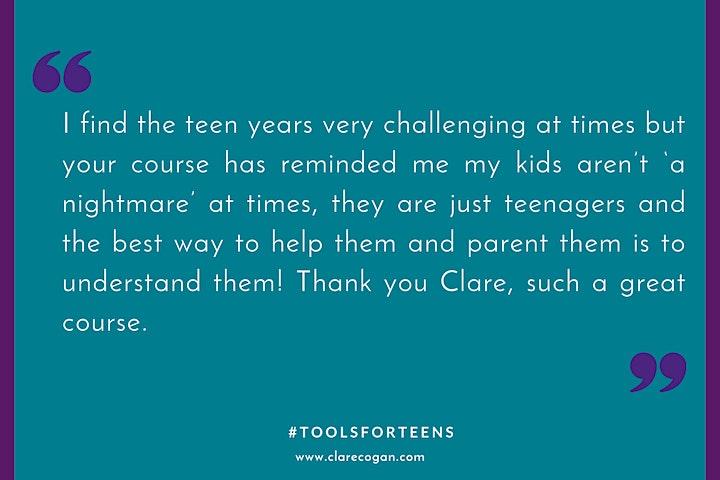 Tools for Teens - Understanding the Teenage Brain - July 2021 image