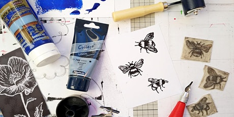 Learn to Lino Print Workshop tickets