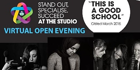 Darwen Aldridge Enterprise Studio Virtual Open Evening 2021 tickets