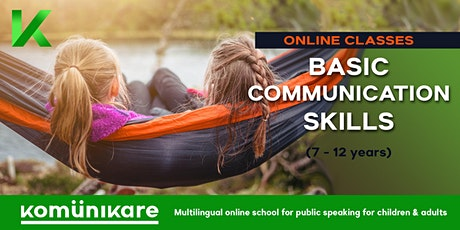 """Basic communication skills"" for children tickets"