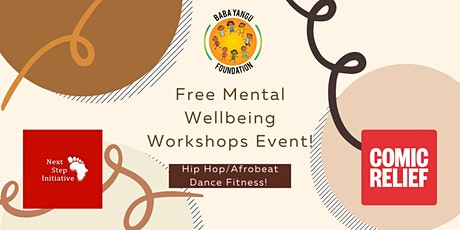 FREE Virtual Mental Health Workshop: Hip Hop/Afrobeat Fitness! tickets