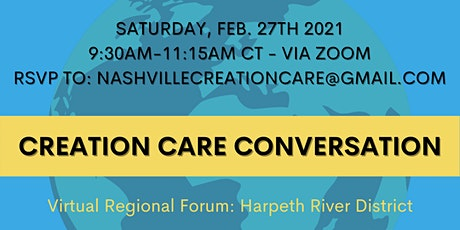 Creation Care Conversation tickets