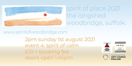Spirit of Place 2021 - Sunday August 1st - Spirit of Calm tickets