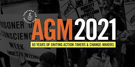 Amnesty International USA's 2021 Virtual Annual General Meeting tickets