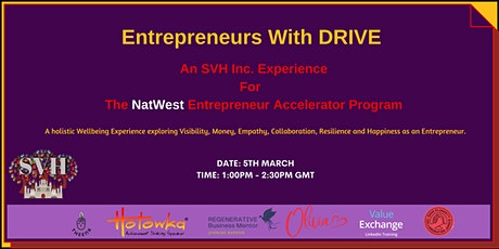 Entrepreneurs with DRIVE tickets