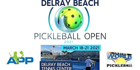 2021 APP Tour Delray Beach Pickleball Open tickets