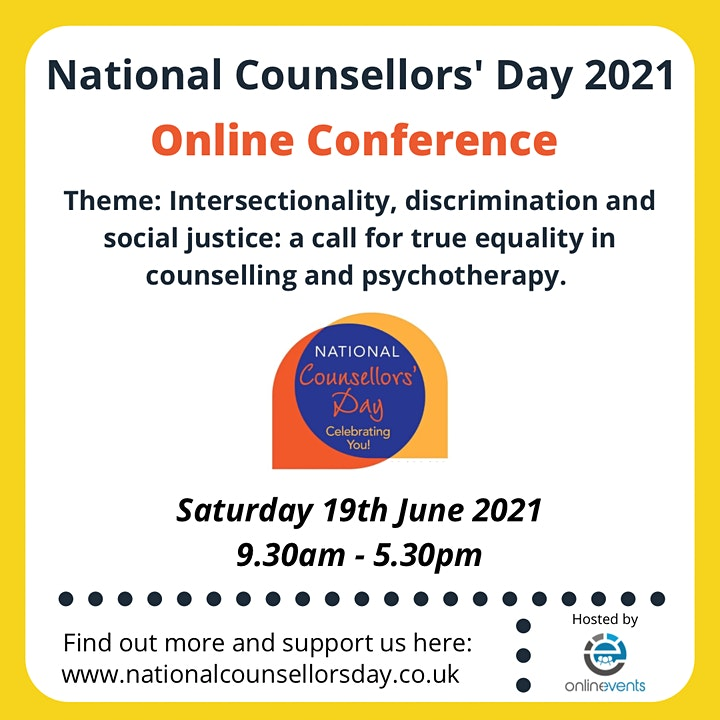 National Counsellors' Day Conference 2021 image