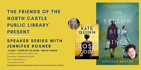 Author Talk with Jennifer Rosner Moderated by Kate Quinn tickets