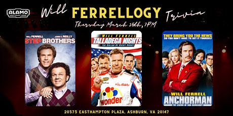 Will Ferrellogy Trivia at Alamo Drafthouse Loudoun tickets