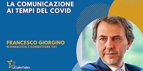 La Salle Talks_La comunicazione ai tempi del COVID biglietti
