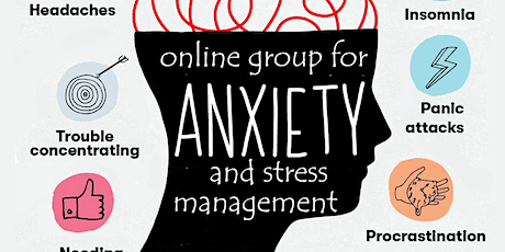"""I AMM""  8 Week Anxiety and Stress Management Group ""Online Group"" tickets"