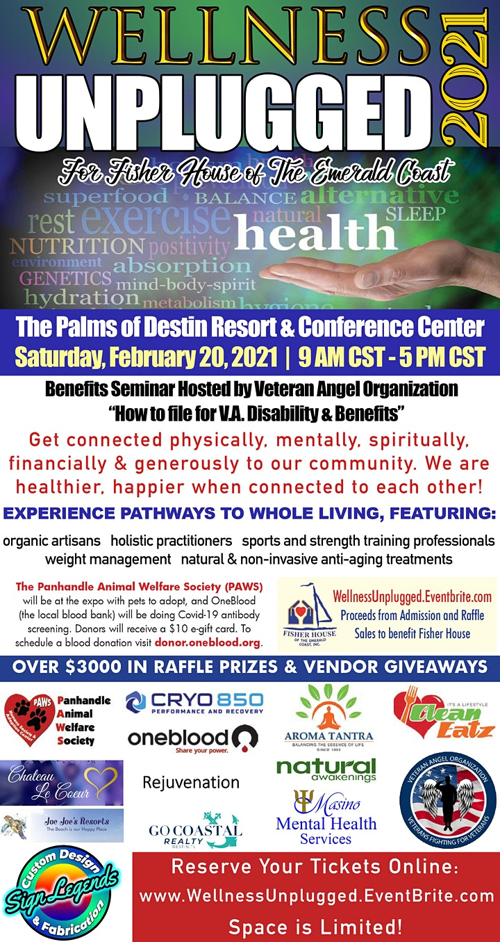 Wellness Unplugged EXPO-Whole Life Connection Expo image