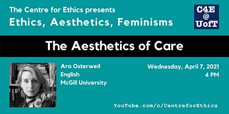 Ara Osterweil, The Aesthetics of Care tickets