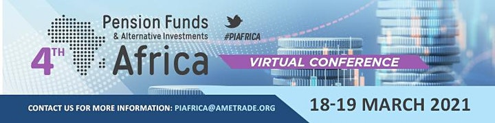 4th Pension Funds and Alternative Investments Africa Virtual Conference image