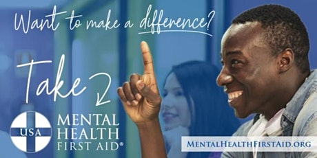 Youth Mental Health First Aid Class 2 tickets
