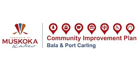 Muskoka Lakes Community Improvement Plan for Bala and Port Carling Launch tickets