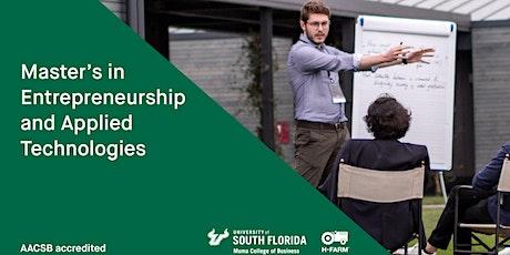 Open Day MS in Entrepreneurship and Applied Technologies biglietti