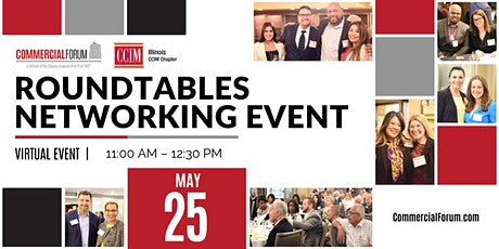 CommercialForum/CCIM Virtual Roundtables Networking Event tickets