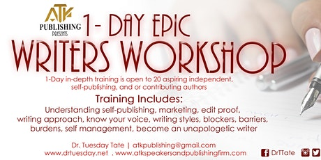 ATK Publishing Presents | Writers Workshop via Zoom tickets