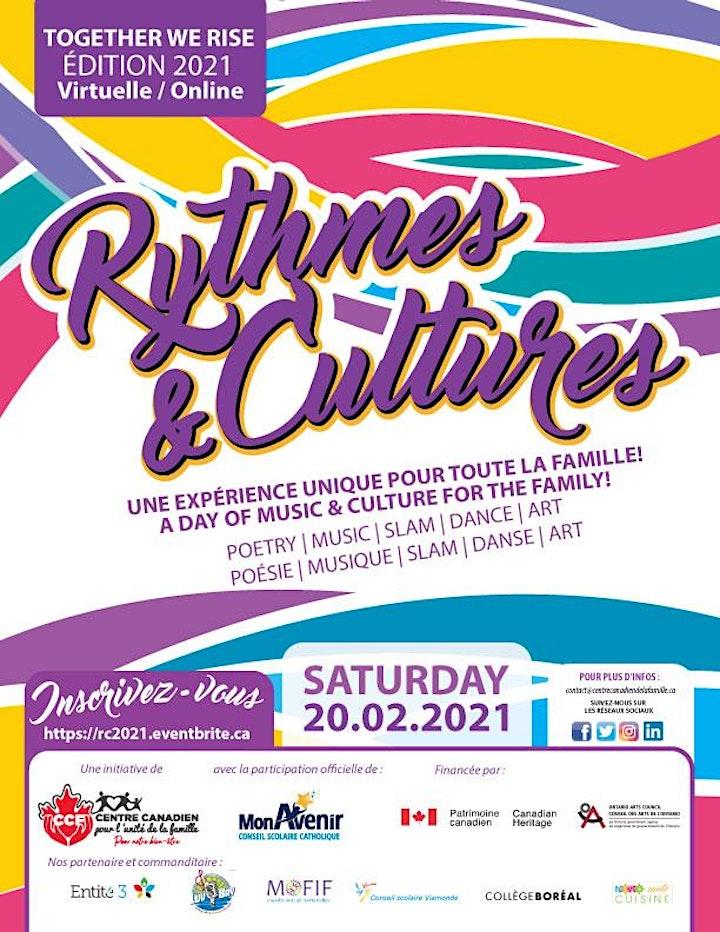 Image de Rythmes & Cultures :Together We Rise  - 2021