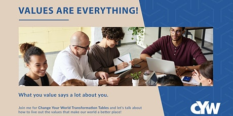 Change Your World Transformation Tables tickets